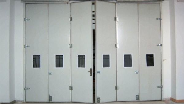 自动(电动)折叠门结构组成及维修方法介绍