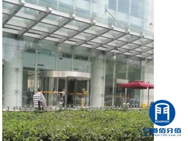 高楼大厦电动旋转门保养与维修服务案例