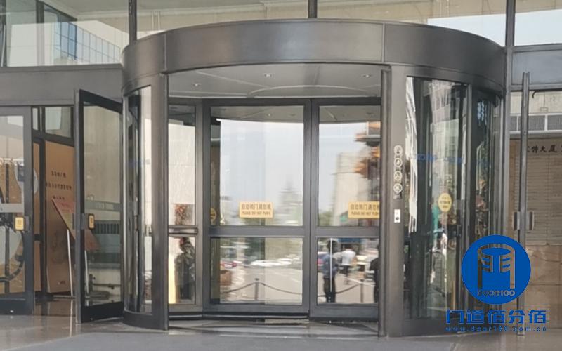 专修凯必盛旋转门,案例:凯必盛电动旋转门保养服务