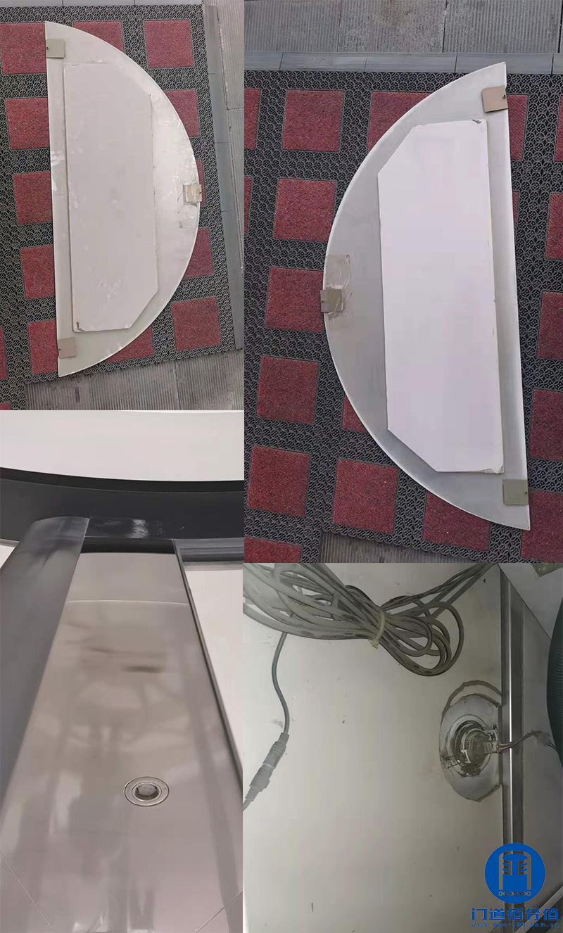 北京昌平区某培训中心凯必盛自动两翼旋转门大保养服务