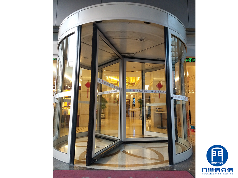 山东宾馆凯必盛自动三翼旋转门升级服务