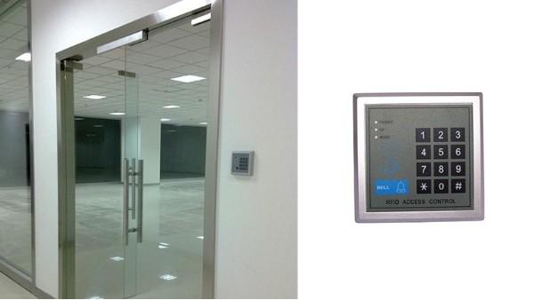 门禁如何与自动门配套使用?自动门安装门禁方法介绍