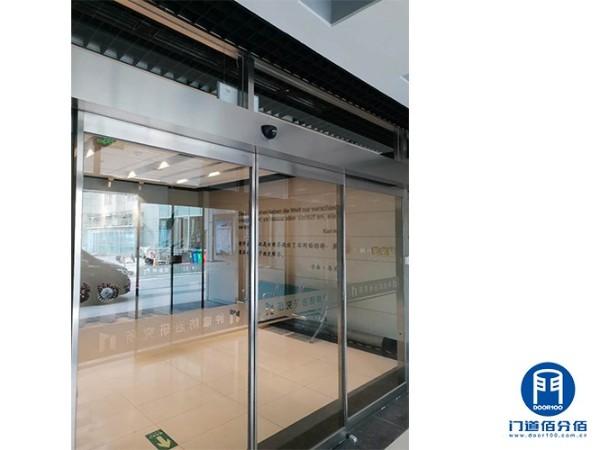医院感应平移玻璃门保养与防夹电子眼维修服务