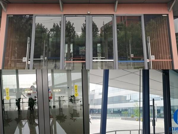 北京海淀区中关村软件园自动平移门拆装服务案例