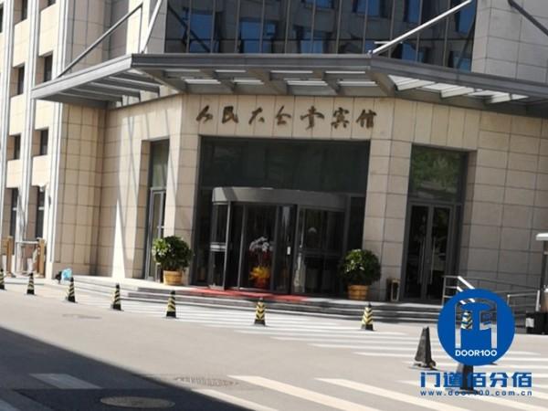 北京西城区人民大会堂宾馆旋转门保养服务案例