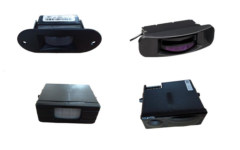 自动旋转门易损零配件维修方法之传感器(开门传感器,防夹传感器)维修