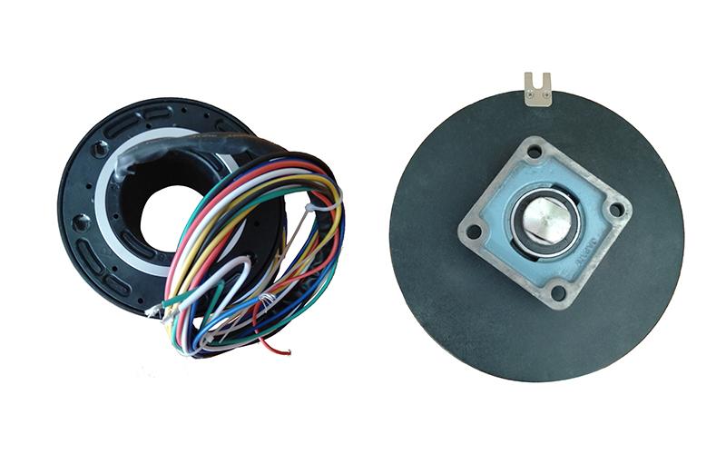 自动旋转门易损零配件维修方法之导电滑环维修