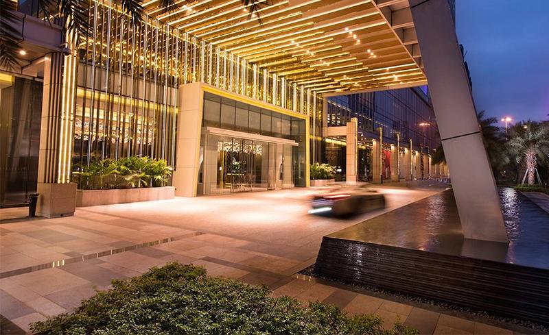 酒店出入口大门设计选择注意事项