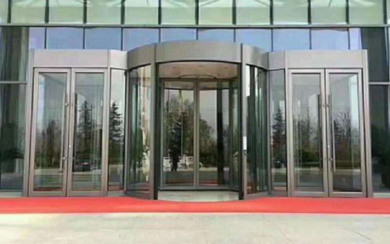 旋转门安装工程验收标准