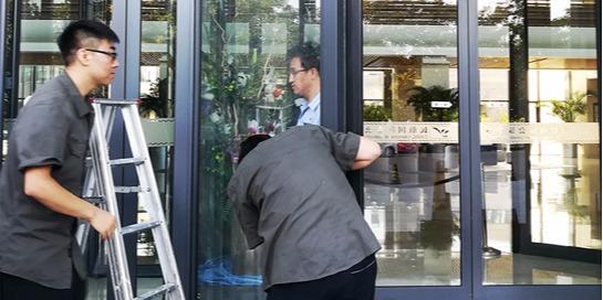 北京自动门维修师傅教你在自动门维修中处理伪故障的小方法