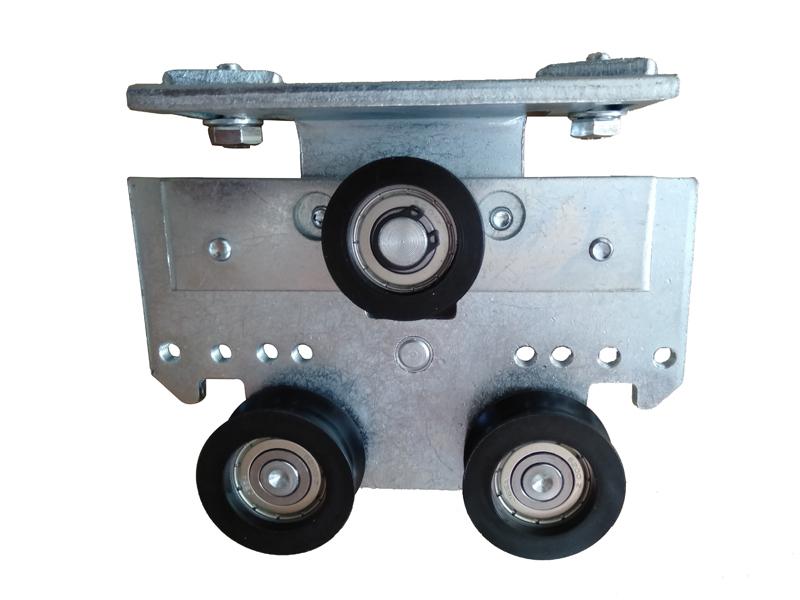 自动平滑门异响维修方法检查吊轮