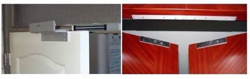 磁力锁安装示例