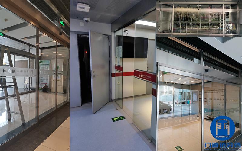 医院玻璃自动门保养检修服务