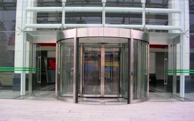 手电动旋转门安装之旋转门使用门区基本环境要求