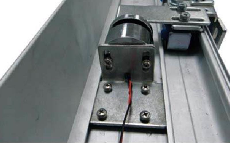 自动门磁力锁图解