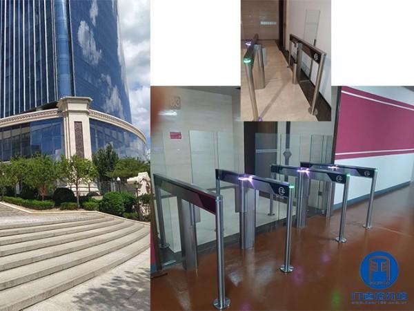 北京朝阳区某大厦内28个通道速通门保养维修服务案例