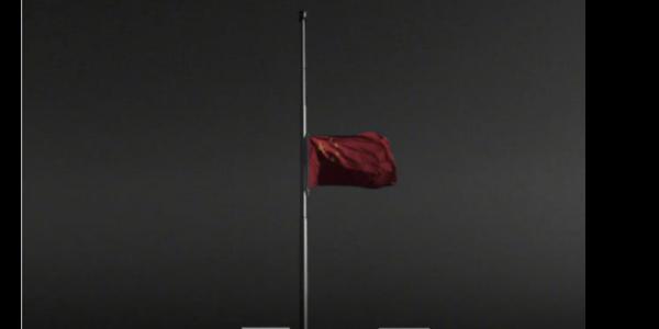 半旗哀悼丨致敬逝去的宝贵生命