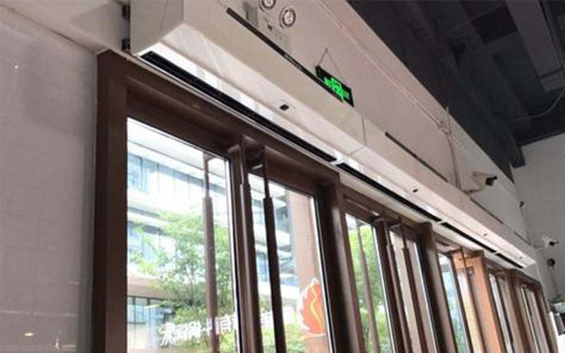 风幕机不同场所选购说明与日常使用注意事项