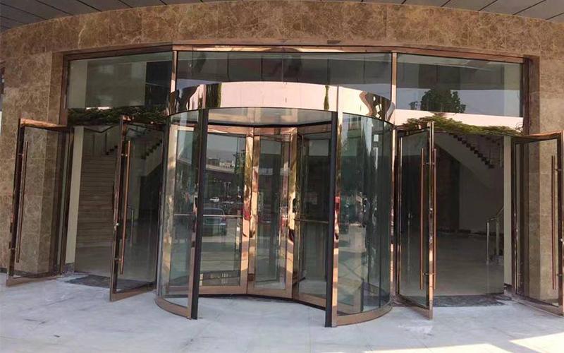 维修旋转门厂家带你了解酒店旋转门尺寸大小