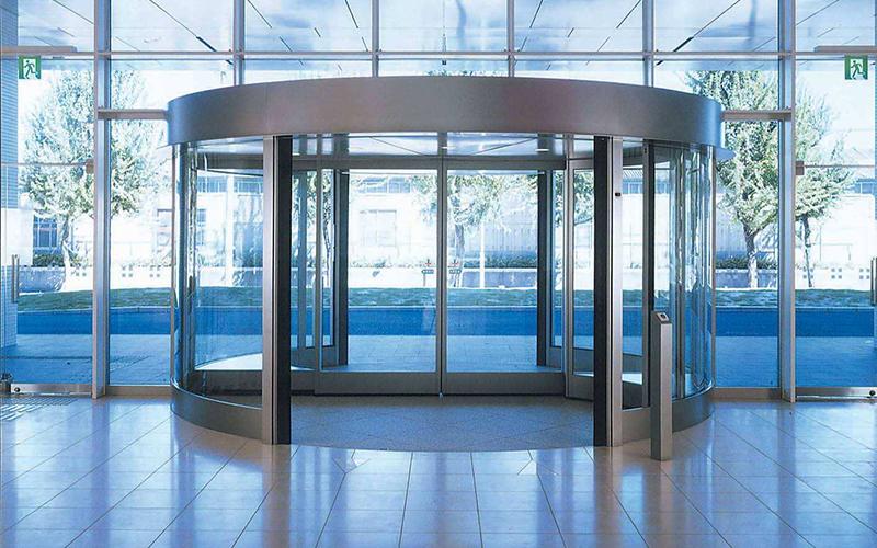 自动旋转门是如何锁门的?旋转门门锁介绍