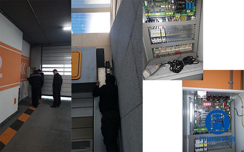 北京朝阳区大厦内部速通门巡检与地下停车场霍曼提升门维修服务