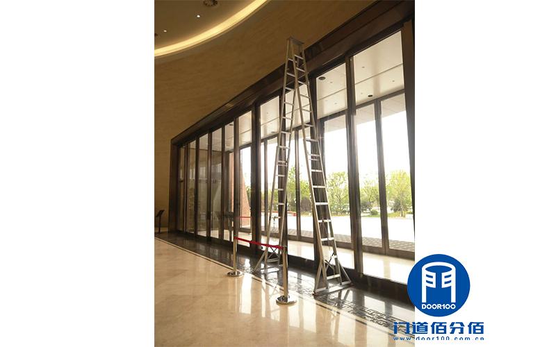 山东淄博艺术中心重型自动感应玻璃门感应器维修服务