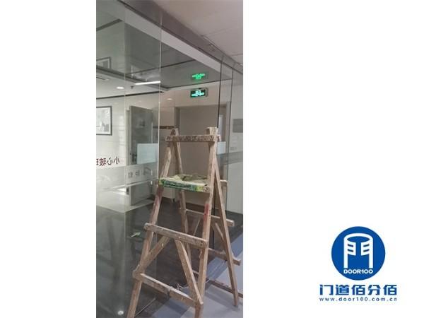 瑞士KABA无框自动玻璃门配件更换维修服务