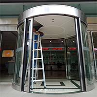 莱商银行支行自动弧形门保养服务