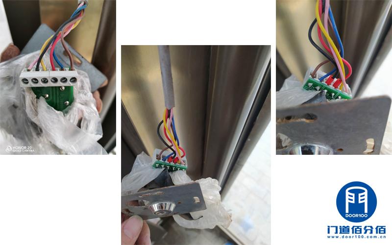 自动旋转门操作板维修