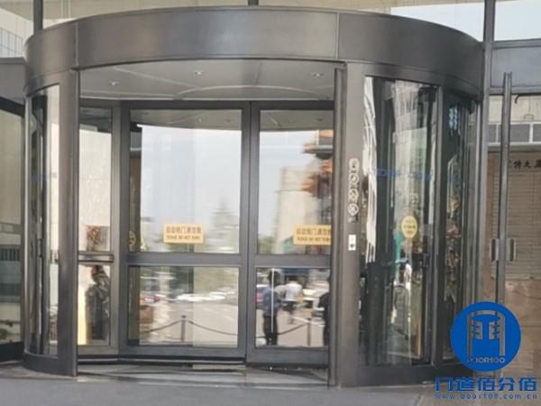 北京朝阳区旋转门天花灯不亮故障维修实例