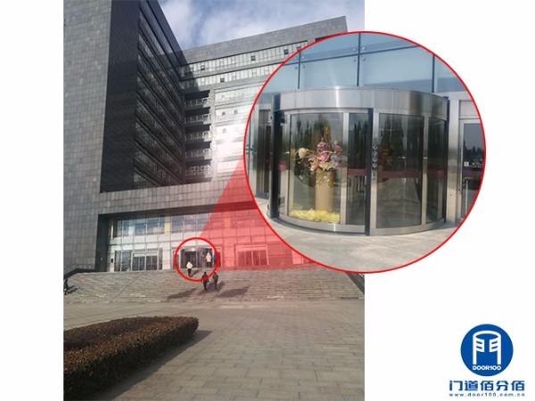 北京密云某大厦凯必盛自动旋转门维修保养服务案例