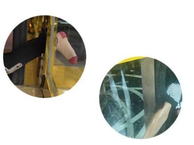 普通防夹传感器有盲区,新式激光传感器用于自动旋转门更安全