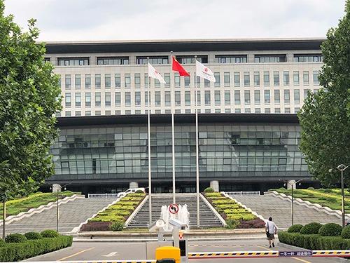 北京自动门维修北京国航总部大楼自动门维修服务案例