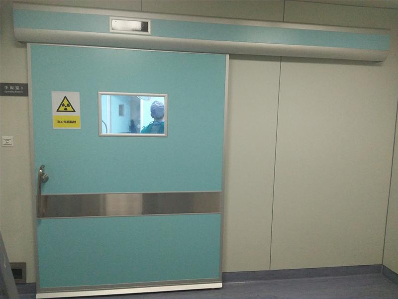 手术室气密门维修案例