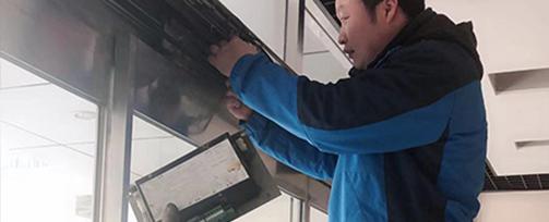 医院卡巴自动平滑门配件维修