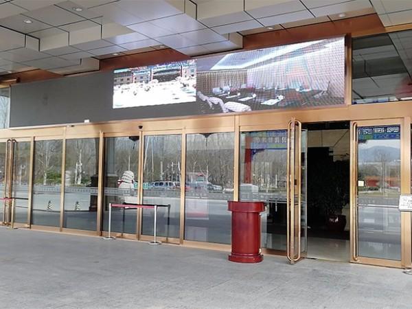 北京某酒店松下自动平滑门配件升级服务案例