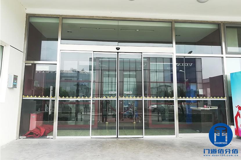 北京祥龙博瑞汽车园自动平移门维修服务案例
