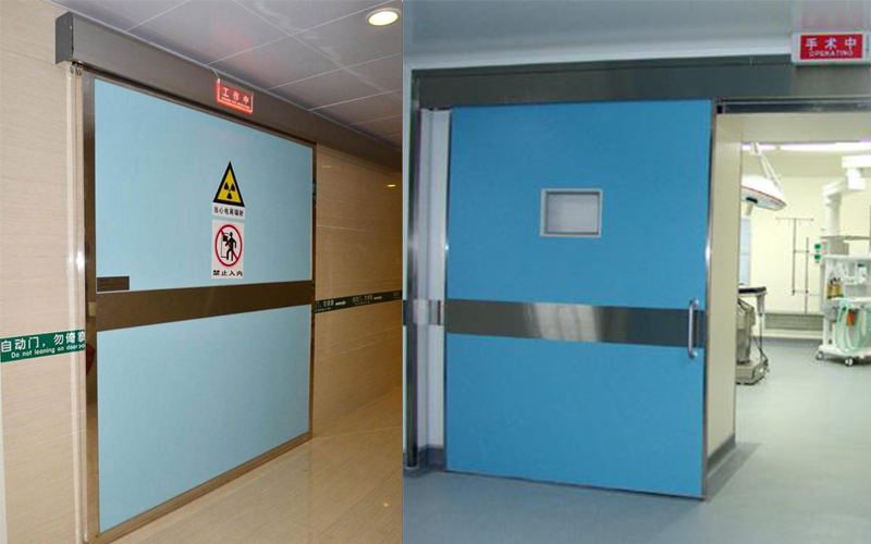 医院手术室自动门与普通自动门的区别介绍