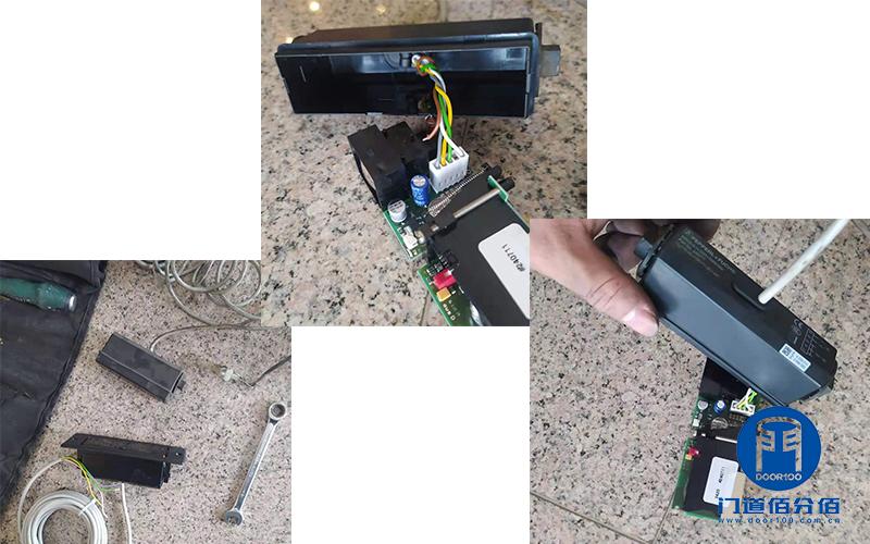 自动旋转门皮带、防夹传感器故障怎么办?门道上门为您维修