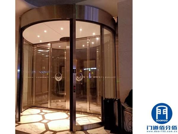 上海黄浦区酒店旋转门保养服务案例