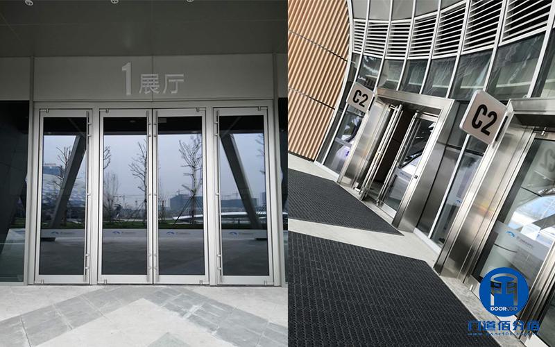 浙江省国际会议中心展览馆智汇门道平衡门上导轮维修更换服务